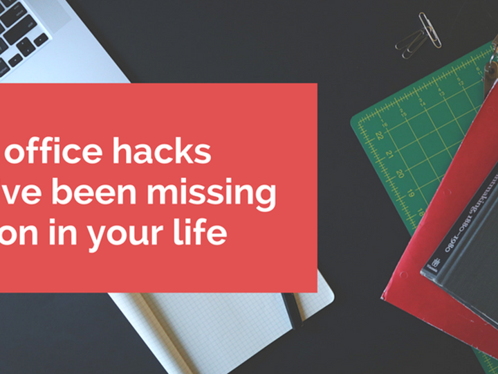 The office hacks you've been missing out in your life